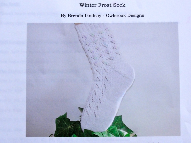 Winter Frost Socks