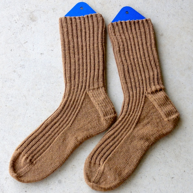 Simple Ribbed Socks