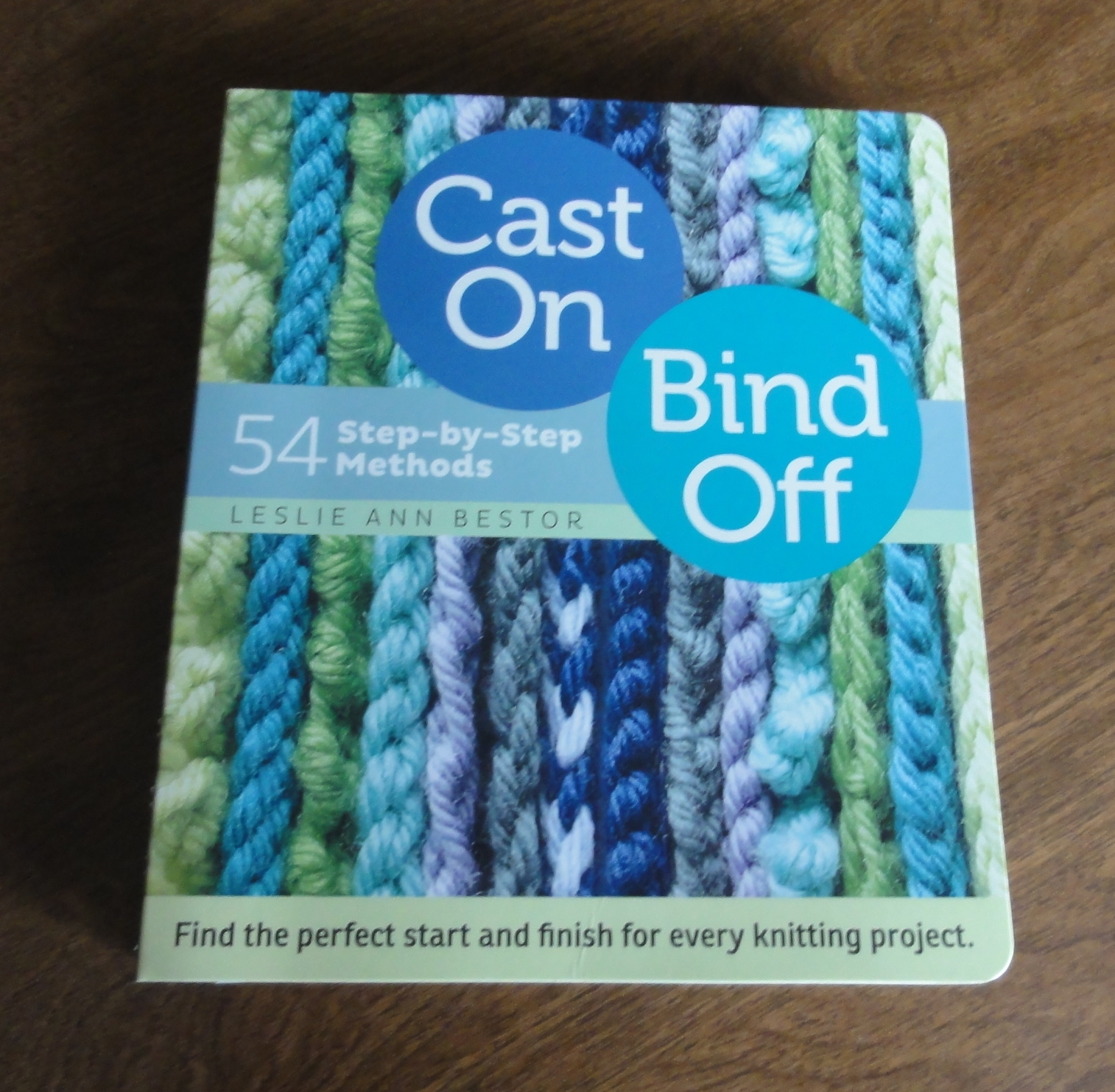 cast on bind off bestor leslie ann