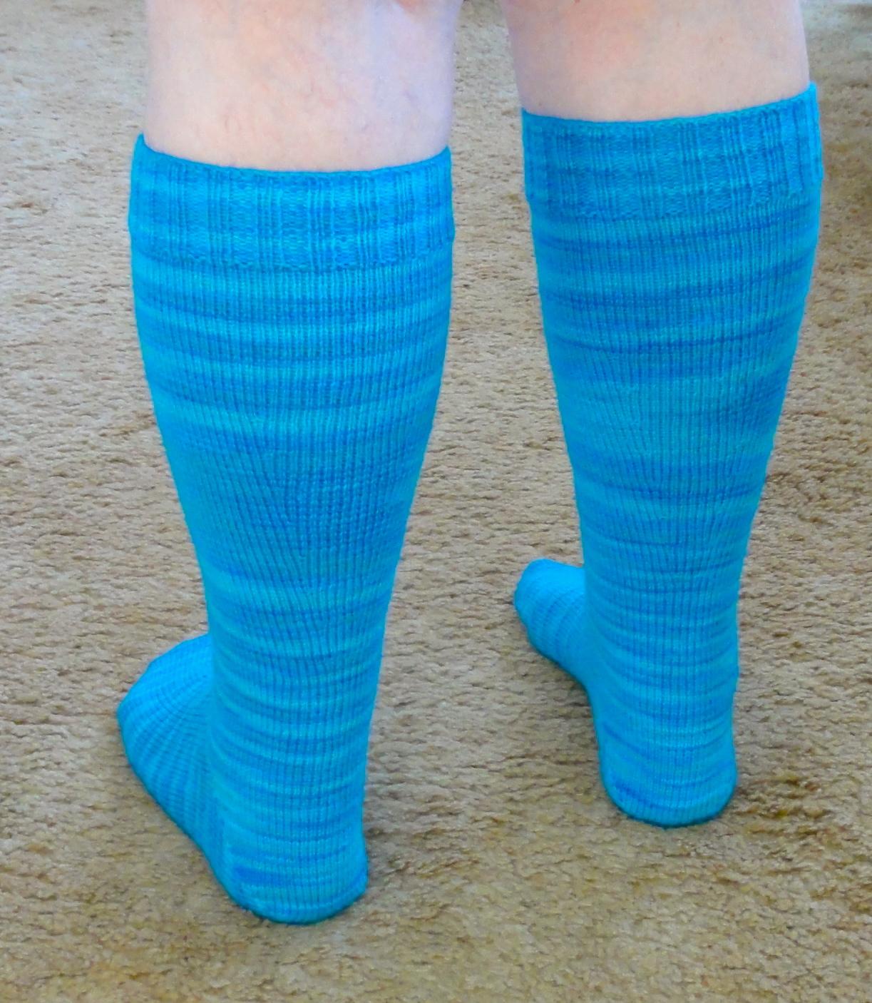 Knitting Patterns Socks On Circular Needles : socks on two circular needles All Kinds Of Knitting