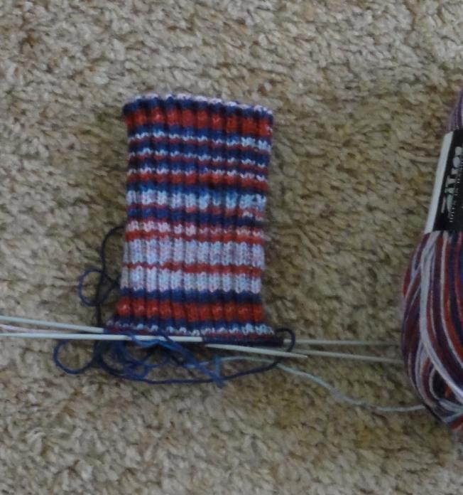 Trekking 2 x 2 ribbed sock