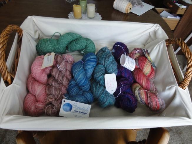 My recently completed handspun yarn