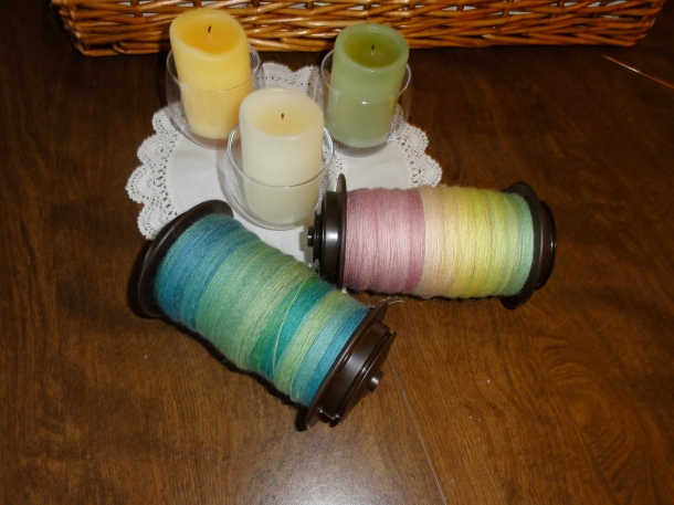 Beautiful singles on the bobbins