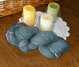 The finished yarn