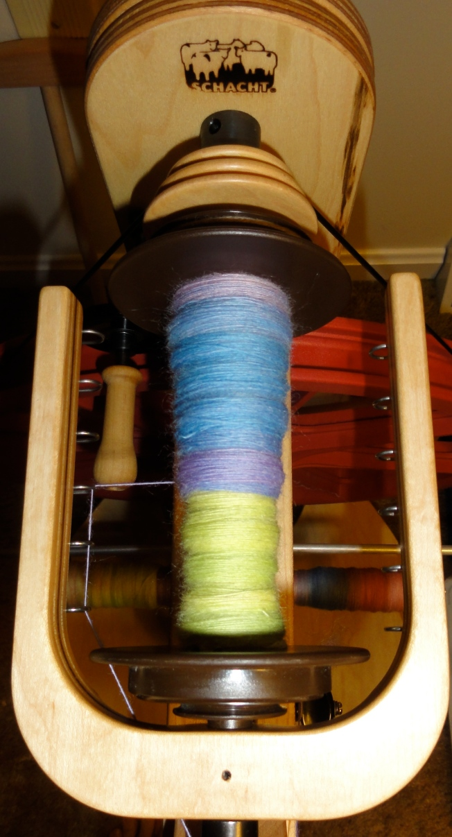 The bobbin was only about half done when I took the picture.
