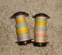 Lovely BFL singles resting up for plying