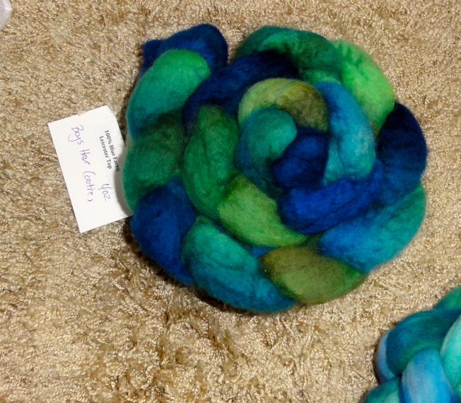 Turtlepurl BFL in Boys Have Cooties. Gotta love that name!