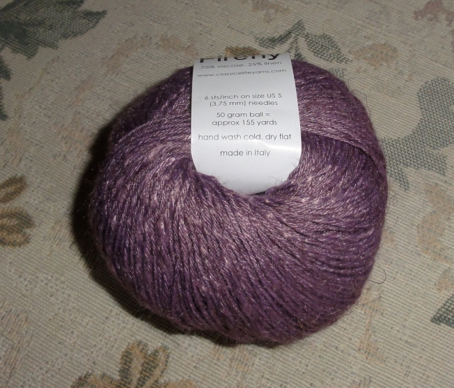 This picture is pretty close to the actually color of the yarn.