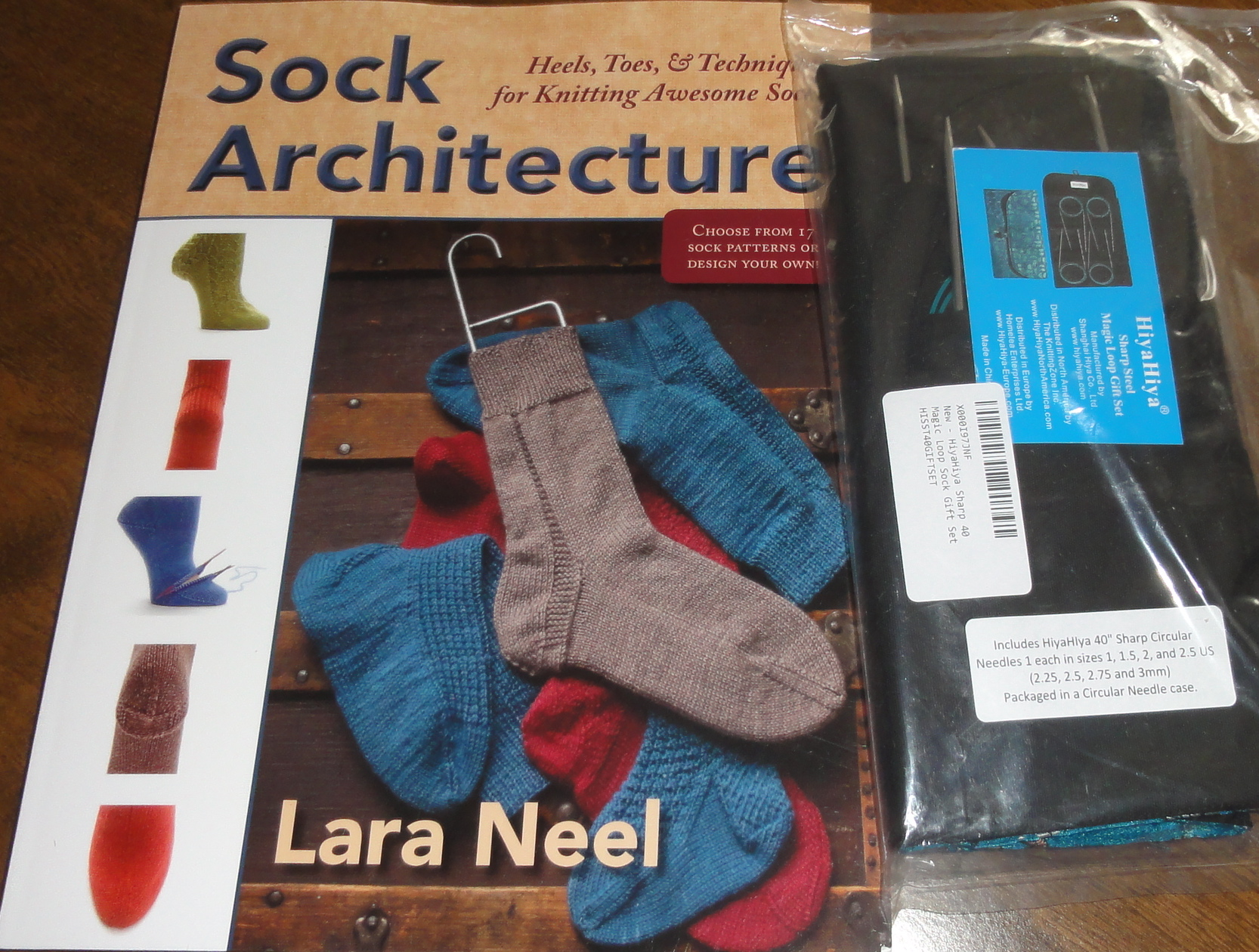 "HiayHiya Brand New :Sharp 40/"" Circular Magic Loop Sock Gift Set:"