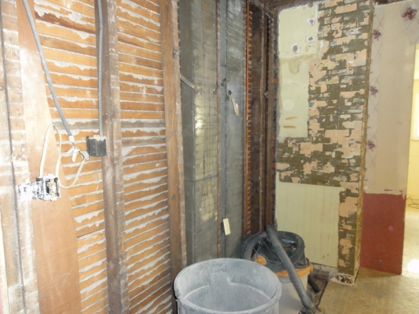 And today, the walls disappeared. Zowie!