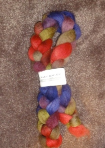 Yarn Hollow BFL in Devil's Daughter