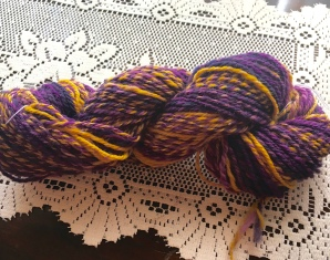 This yarn is Cheviot that is a true 3-ply yarn.