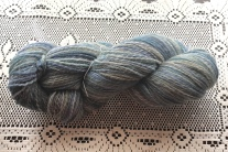 This yarn is a 2-ply, fractal-spun English Shetland.
