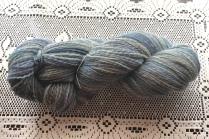 This yarn is a 2-ply, fractal-spun English Shetland.